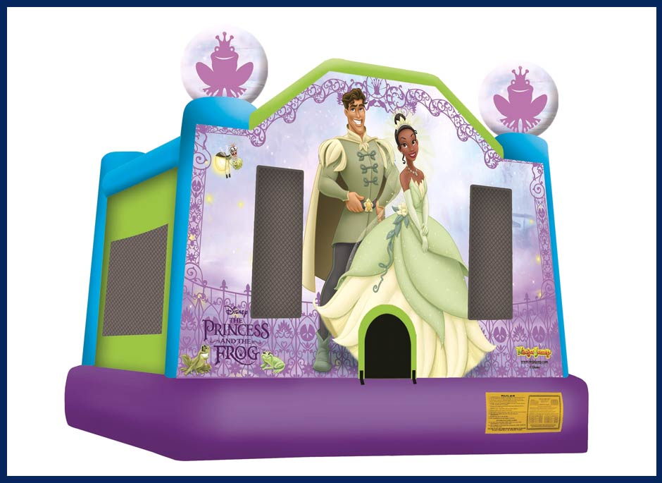 Princess And The Frog Bounce House Large