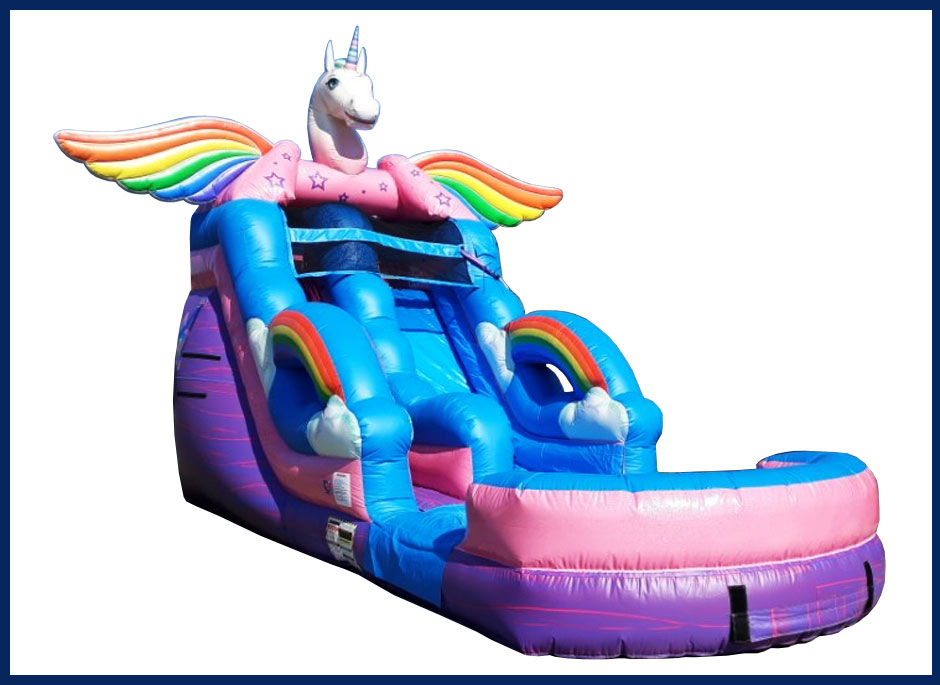 Unicorn Water Slide